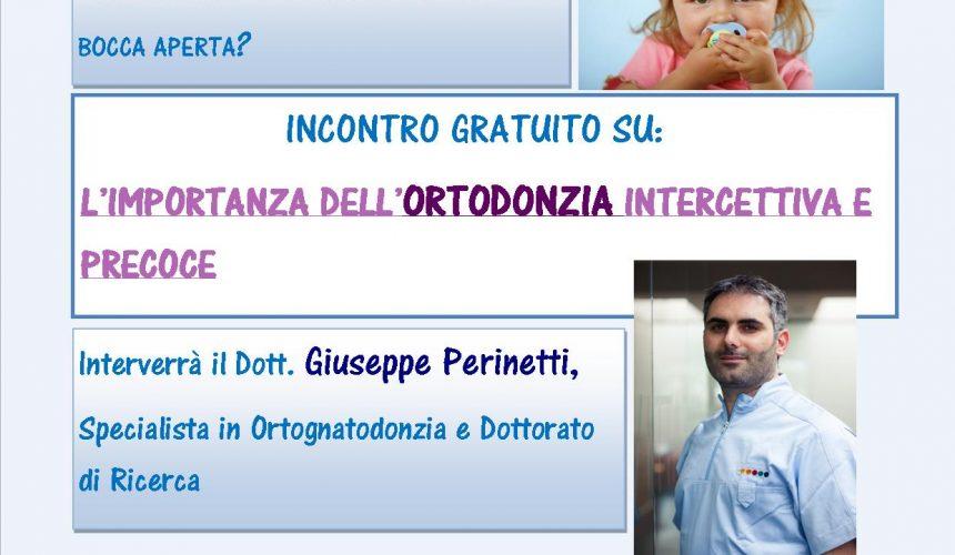 Ortodonzia Intercettiva e Precoce.